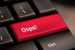 Blogging Failure