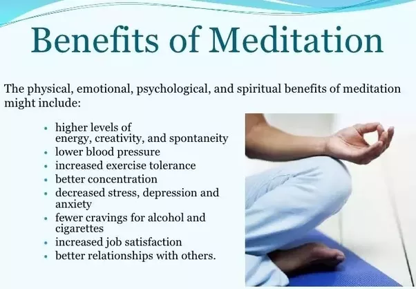 What are the Spiritual benefits of meditation, Relaxation