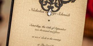 paper invitation Authentic feel Paper Wedding Invitations Are Still In