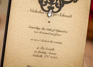 paper invitation Authentic feel Paper Wedding Invitations Are Still In
