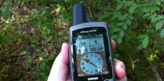 Gifts for Geocachers and hobby of treasure hunting using a GPS