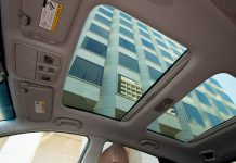 Car sunroof installation an option for some electric hybrids