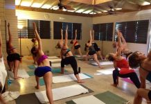 Bikram yoga retreat