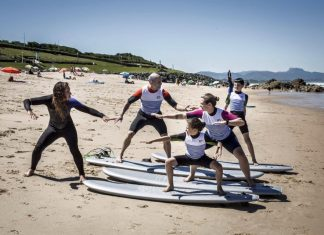 Shine yoga for surfers